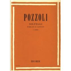 POZZOLI SOLFEGGI PARLATI E CANTATI PRIMO I CORSO - edizione RICORDI -ER1151