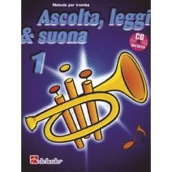 DE HASKE - ASCOLTA LEGGI E SUONA vol.1 METODO PER TROMBA CON CD ALLEGATO - J.KASTELEIN