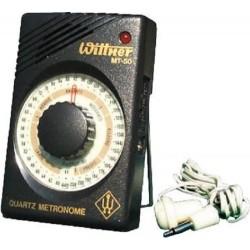 Wittner MT 50 Metronomo elettronico al quarzo 40-208 battiti con auricolare incluso