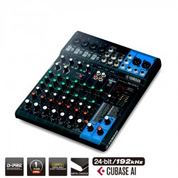 YAMAHA MG10XU Mixer analogico USB 10 canali con effetti COMPRESSORE CUBASE