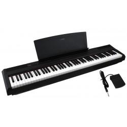 YAMAHA P105 BK BLACK NERO PIANO ELETTRICO 88 TASTI PESATI