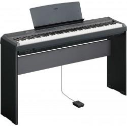 YAMAHA P105 BK BLACK PIANO DIGITALE ELETTRICO 88 TASTI PESATI COMPLETO DI STAND L-85 L-85