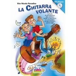 PARADISO - LA CHITARRA VOLANTE vol.1 METODO DI CHITARRA PER BAMBINI CON CD ALLEGATO