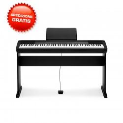 CASIO CDP130 88 TASTI PESATI PIANOFORTE ELETTRICO DIGITALE CON STAND CDP 130 BK
