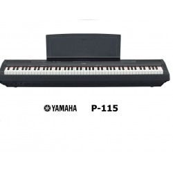 YAMAHA P115 BLACK PIANO DIGITALE