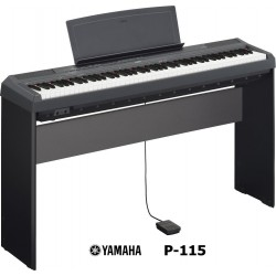 YAMAHA P115 BLACK completo di stand L-85