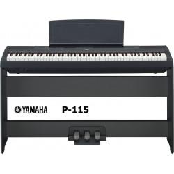 YAMAHA P115 BLACK completo di stand L-85 e pedaliera LP-5A