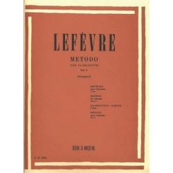 LEFEVRE METODO PER CLARINETTO - VOL. 1 ED. A. GIAMPIERI RICORDI ER 2035
