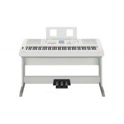 YAMAHA DGX 650 W - WHITE CON PEDALIERA LP-7A