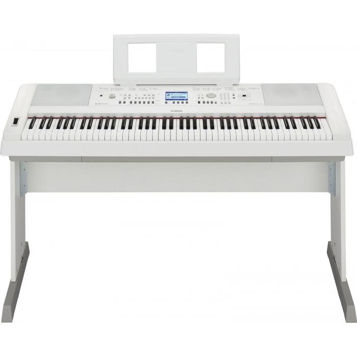 YAMAHA DGX 650 W - WHITE