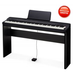 CASIO PRIVIA PX160 Black CON STAND CS-67 PIANO DIGITALE