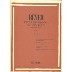 BEYER Scuola Preparatoria del Pianoforte op.101 ediz. RICORDI E.R.104