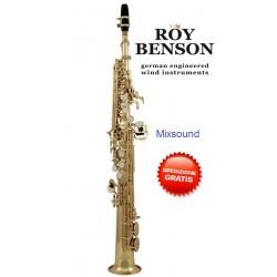 Roy Benson SS-302 Sassofono soprano in Sib