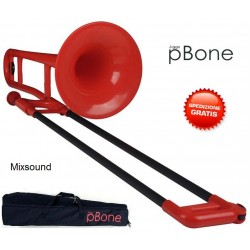 PBONE TROMBONE TENORE ROSSO IN ABS