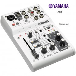 YAMAHA AG03 MIXER USB 3 CANALI CON INTERFACCIA AUDIO PER BROADCASTING / PODCASTING