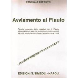 Pasquale Esposito - Avviamento al flauto