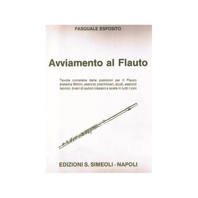 Pasquale esposito avviamento al flauto ed simeoli - Tavola posizioni flauto traverso ...