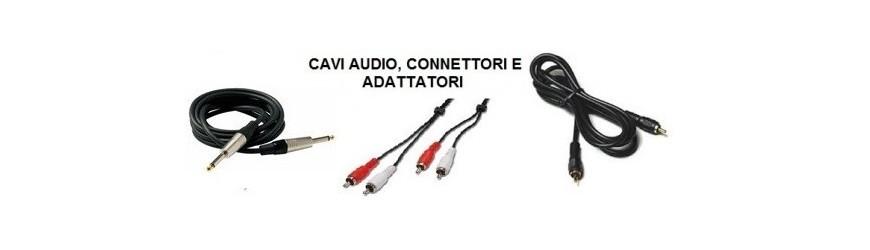 Cavi Audio e Adattatori